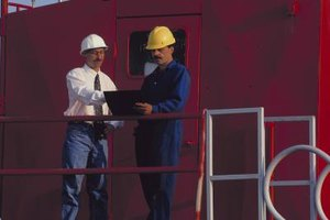 Coordinating with contractors is one of the duties of a foreman.
