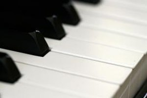 Have your child think of everyday things that are black and white, such as piano keys.
