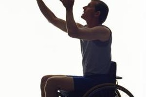 Wheelchair basketall can be fun and healthy for special needs children.