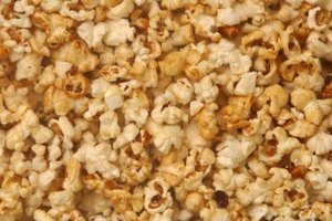 Flavored popcorn is an easy but celebratory appetizer.