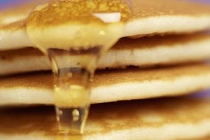 Xanthan gum alternatives make gluten free pancakes light and fluffy.