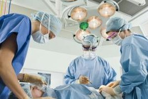 Perioperative assistants play a support role in the operating room.