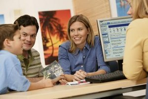 Travel agencies commonly employ reservation sales specialists.