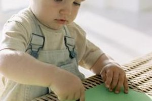 Stay with infants at all times while using art materials.