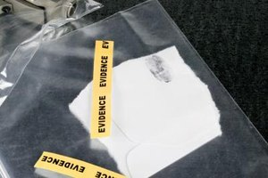 Forensic science programs teach students how to examine crime scene evidence.