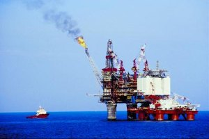 The offshore oil industry attracts FDI and portfolio investments.