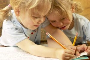 Drawing can help build friendships.