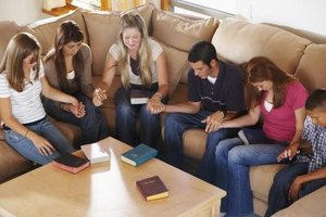 Many teens enjoy sharing their spiritual outlook with peers.