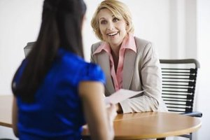 Many hiring managers give you an idea of what to expect at the interview.
