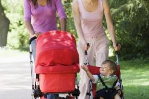 A stroller can be your exercise partner during the newborn phase.