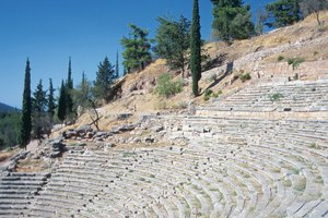 What Theaters in Ancient Greece Were Temples to the Gods?