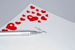 Romantic Love Letter Ideas