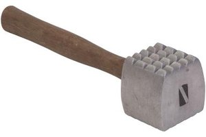 A mallet is an essential tool for home cooks for tenderizing meat and poultry.
