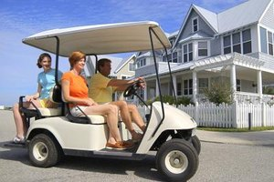Some retirement communities let residents drive golf carts on public streets.
