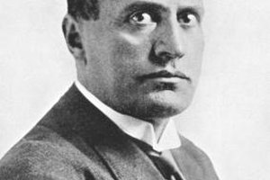 Benito Mussolini became the leader of Italy in the 1920s.