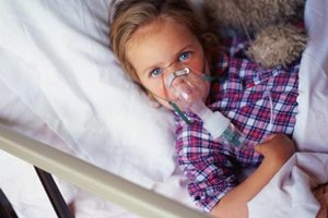Respiratory therapists may work with children who have asthma or pneumonia.