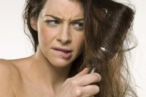 Avoid excessive brushing if you have flyaway hair.