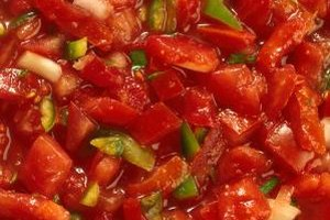 Stir the canned salsa before serving it if it has separated.