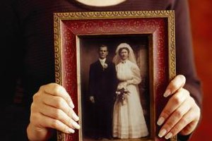 Photos of your grandparents' wedding are a reminder of their presence.