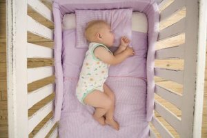 "Make the crib a ""sleep zone."""