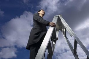 Climb the corporate ladder gracefully.