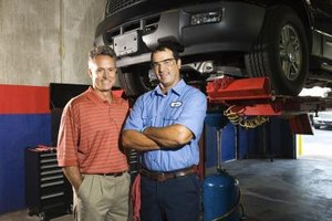 Automotive engineers and auto mechanics perform entirely different job duties.