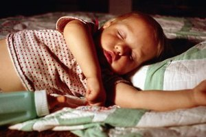 A toddler bed can be safer than a crib for older toddlers.
