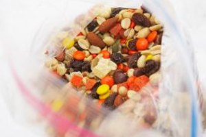 Keep bags of trail mix on hand for kids on the go.