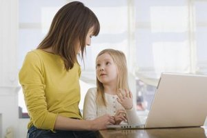 Talking to your child can help her to develop language skills.