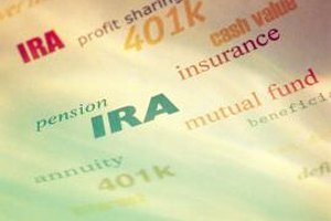 IRAs are one of several investment options.