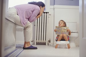 Frequent Urination in Children Learning to Potty Train