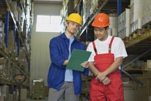 Logistics supervisors work in warehousing, transportation and other business areas.