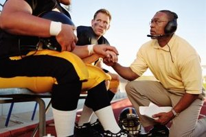 Athletic trainers usually travel to away games with their professional sports teams.