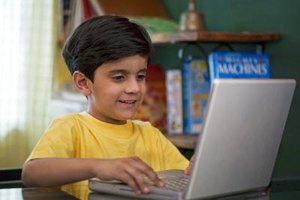 Children with autism are often interested in using technology.