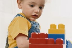 Building blocks help build cognition skills.