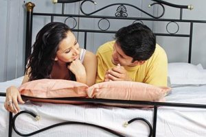 Communicate with your husband when you are both relaxed.