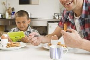 Eating breakfast together will increase your family's energy levels and cognitive ability.