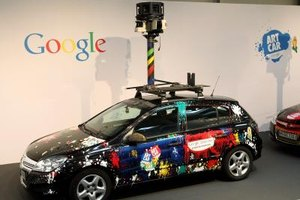 Google Street Views are taken by dedicated cars.