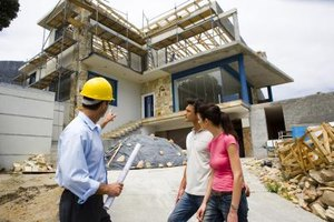 Self-employed business owners negotiate with clients on projects that subcontractors can help complete.