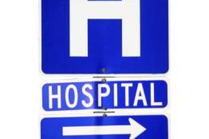 Secondary health insurance covers the gaps in primary insurance during a hospital stay.