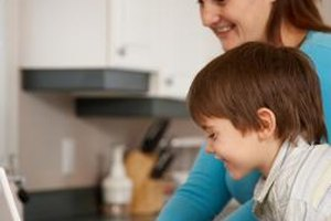 Online classes allow parents to spend time at home with family.