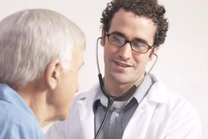Physicians earn their pay by listening closely to patients' medical concerns.