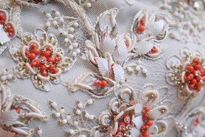 How to Clean a Beaded Satin Dress Top