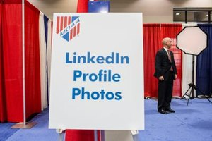 Some LinkedIn members choose to get professional photos for their profiles.