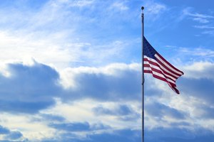 Rules of Flying an American Flag at Half Mast