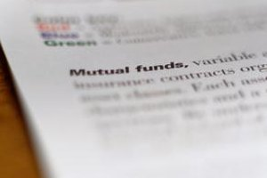 Different types of funds serve different purposes.