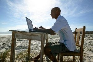 Day traders work from anywhere and need little startup capital.