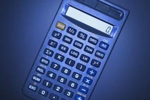 A scientific calculator can help you calculate the interest rate.