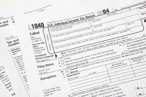 "The ""1040"" is a common tax form."