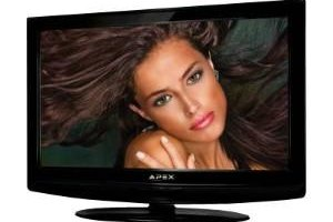 An Apex LCD TV